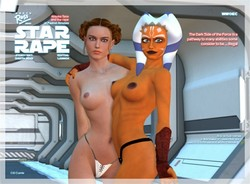 DarthRoss - StarRape - The Rape of Padme Amidala comic