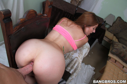 Anal banged redhead rose red tyrell 8