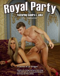 Blackadder - Royal Party