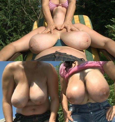Milena Velba, Nika 2 Huge Pair of Natural Boobs Sunprotection