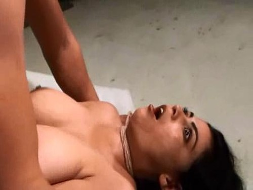 Fuck and strangle sleeping girl