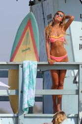 Bikini Photoshoot in Malibu (September 2014)