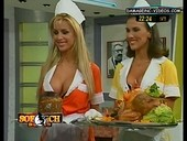 Panam big breats cleavage maid