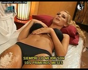 Sabrina curvy body oiled up